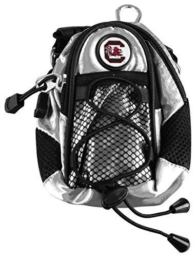 LinksWalker NCAA South Carolina Gamecocks - Mini Day Pack - Silver