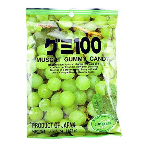 Kasugai-Gummy Candy Muscat Flavor 3.59 Oz