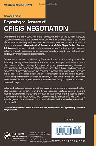 Psychological Aspects of Crisis Negotiation, Second Edition