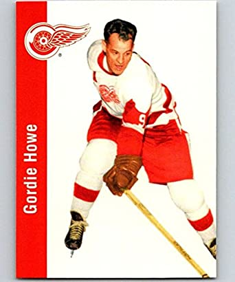 002493d1085 Amazon.com: 1994-95 Parkhurst Missing Link #43 Gordie Howe Red Wings NHL  Hockey: Collectibles & Fine Art