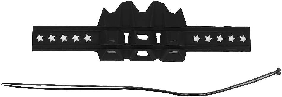 Negro Qii lu Universal Silicone Motorcycle Exhaust Heat Shield Tubo Protector Protector de la cubierta