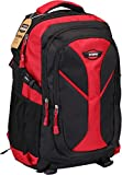 Utopia Home Laptop Backpack For Up To 15.6-Inch Laptops - Lightweight Padded Sleeve Design - Red