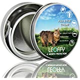ERGMY Flea Tick Collar for Cat - One Size Fits All - Flea Preventionup to 8 Months - Natural Ingredient Flea & Tick Collar