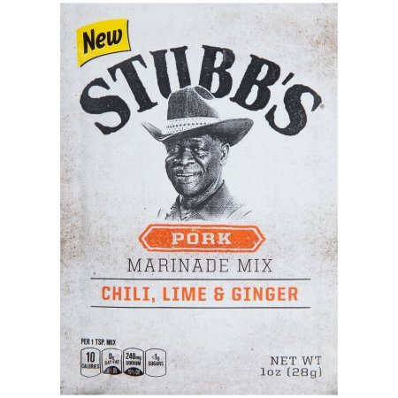 Stubb's Chili, Lime & Ginger Pork Marinade Mix, 1 (Pork Tenderloin)