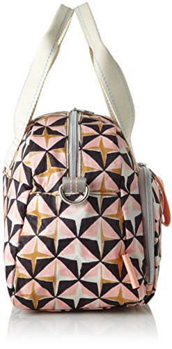 Rosa X Mhz H 15x22x32 Ruffles 1 Geometrical Donna rose Oilily Handbag Cm b T Borsa xt70wZzOq