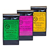 Montana Tea & Spice Evening In Missoula, Montana Gold, Mountain Huckleberry 3 Pack