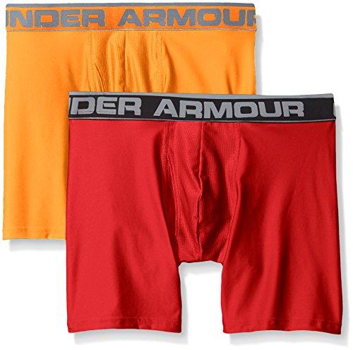 Under nbsp;pkUomoPierce magma Uomo Series nbsp;pollici O Armour Orange Boxer Jock 2 6 NkXnw0PO8