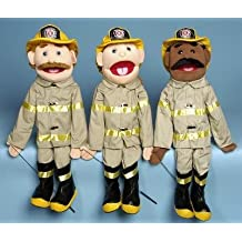 Sunny Toys GS4301 28 In. Dad Fireman, Full Body Puppet
