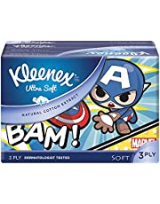 Kleenex Ultra Soft Facial Tissue Soft 3 PLY, Disney Ltd Edition, 50ct (Pack of 4). Packaging May Vary