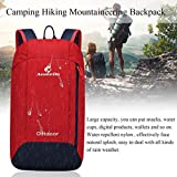 YTYC 10L Capacity Men Women Sport Outdoor Camping Hiking Mountaineering Backpack