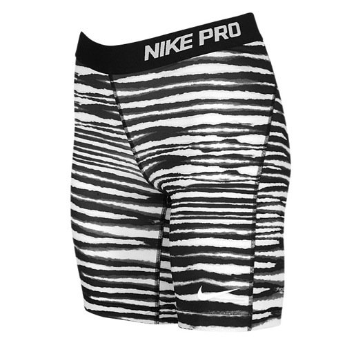Nike-Pro-Women's 7-Tiger Printed Compression X-Small (Tiger Spandex Shorts)