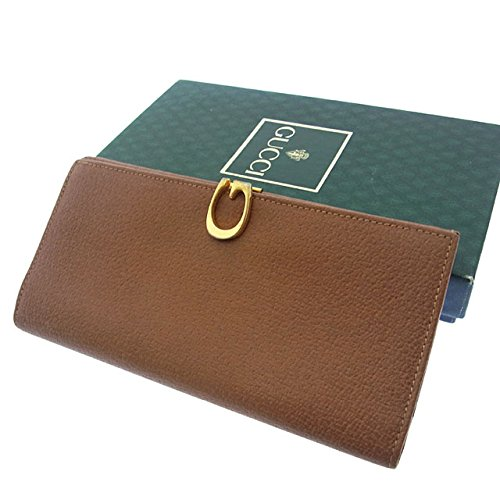 グッチ レザー 財布(ホック式小銭入れ付き) 035-1323