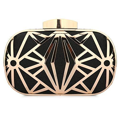 Handbag Purses Bling Clutch Black Evening Sparkling Evening Bags For Bride Prom Wedding Glitter O70YnnqR