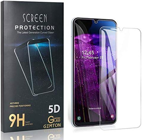 GIMTON Displayschutzfolie für Galaxy A50S, Ultra Dünn HD Panzerglasfolie mit 3D Touch, 9H Härte Schutzfilm aus Gehärtetem Glas für Samsung Galaxy A50S, 4 Stück