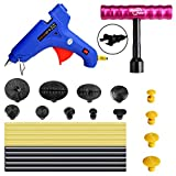 FLY5D 25Pcs Auto Body Paintless Dent Removal Kits Hail Damage Door Dings Dent Repair Kits