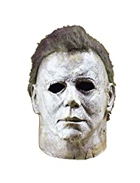 Ani·Lnc Michael Myers Mask Halloween Cosplay Horror Full Face Mask Scary Movie Character Adults Cosplay Costume Props Toy