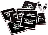 Prego Premium Drink Coaster Collection - Funny
