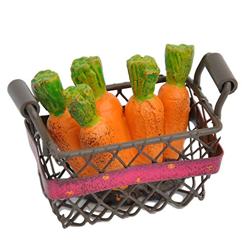 Studio M - Gypsy Fairy Garden -Mini Carrot Basket GG230