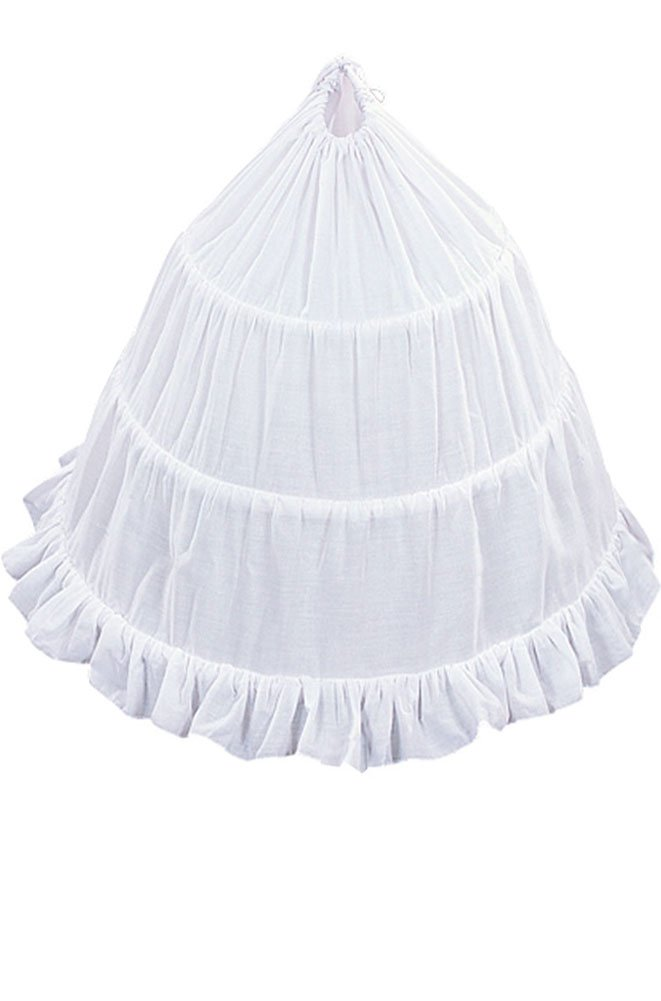 AMJ Dresses Inc Girls 3-hoop Flower Girl Petticoat Skirt 30''