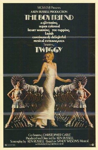 The Boyfriend Framed Poster Movie B 11 x 17 Inches - 28cm x 44cm Twiggy Lawson Christopher Gable Max Adrian Bryan Pringle