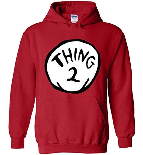 Thing 1 And Thing 2 Hoodies (Thing 2 Hoodie)
