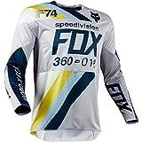 Fox Racing 2018 360 Draftr Jersey-Light Grey-L