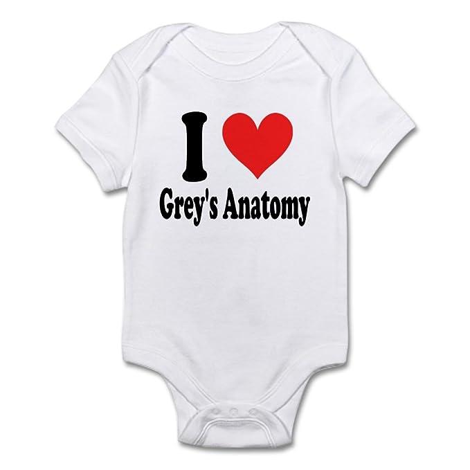 Amazon Cafepress I Heart Greys Anatomy Body Suit Baby Bodysuit