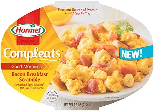 UPC 037600117548, Compleats Hormel Breakfast Scramble, Bacon, 7.5 Ounce