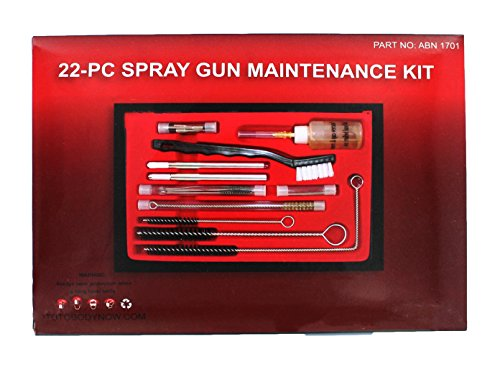 abn-professional-22-piece-hvlp-spray-gun-cleaning-maintenance-kit