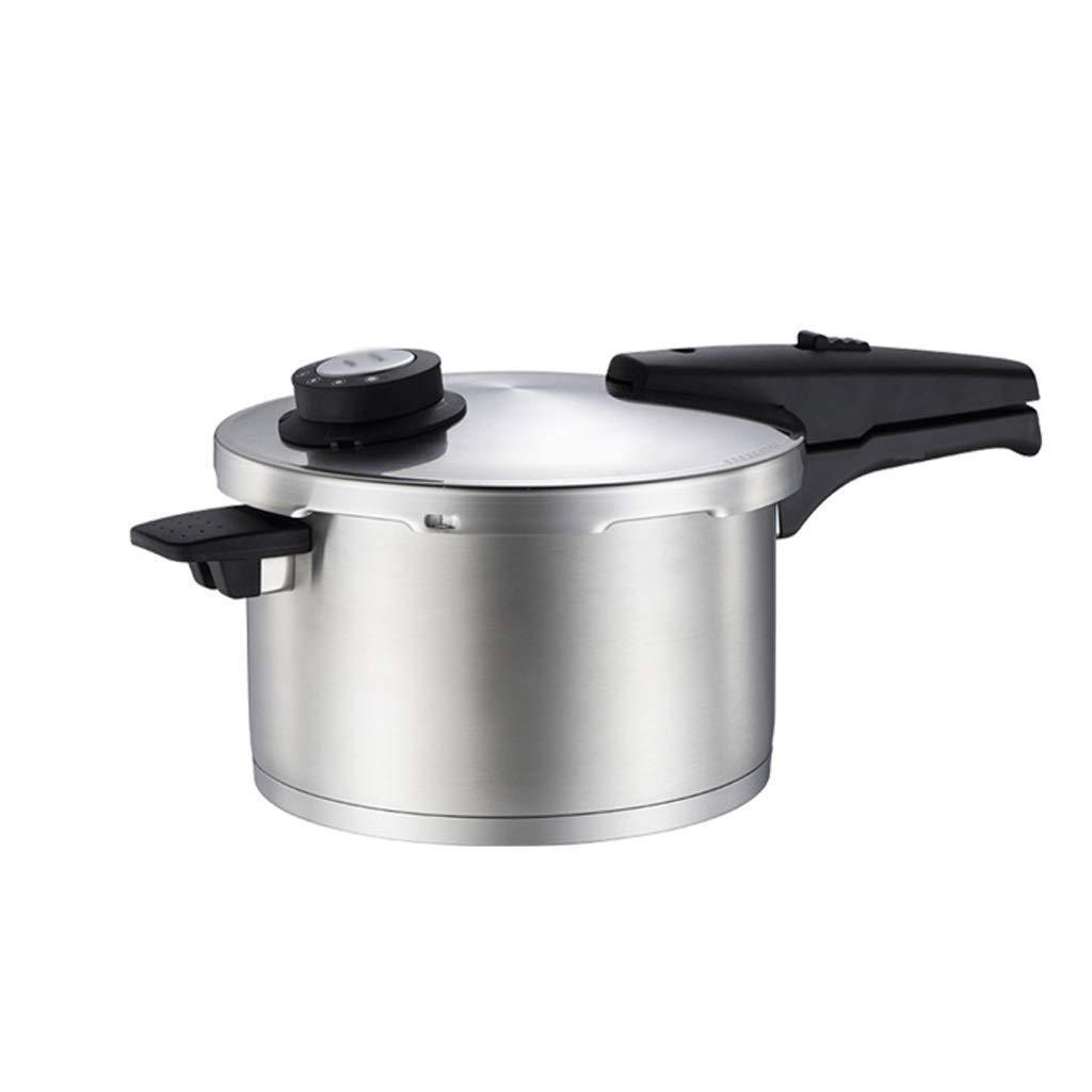RMXMY 家庭用304ステンレス鋼圧力鍋ガス炊飯器ユニバーサル多機能二重底防爆圧力鍋5L / 7L (サイズ さいず : 5L) B07RTKQ29L  5L