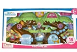 tinkerbell tree house - 15 Pieces Kid Connection Fairy Playset / Juego De Hadas