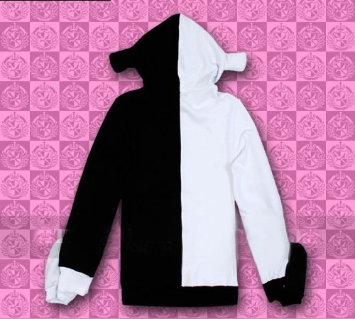 Rulercosplay Dangan Ponpa Black White Bear Cosplay Jacket - Long Sleeves