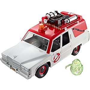 Ghostbusters ECTO-1 Vehicle and Slimer Figure - 516hwrZH7CL - Ghostbusters ECTO-1 Vehicle and Slimer Figure
