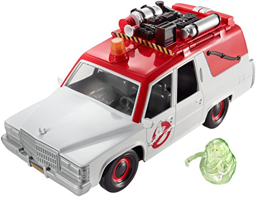 Ghostbusters ECTO-1 Vehicle and Slimer Figure -