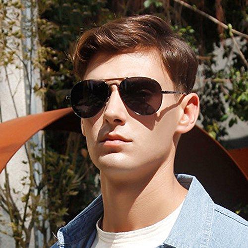 Gafas 100 Para Tesite Anti Gray De Uv Polarizadas Sol Hombres Espejo w4UURdq