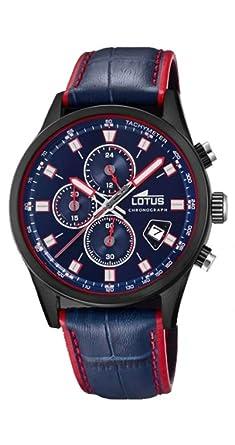 4db725eb9f05 Reloj Lotus Color Caballero cronógrafo 18589 2  Amazon.es  Relojes