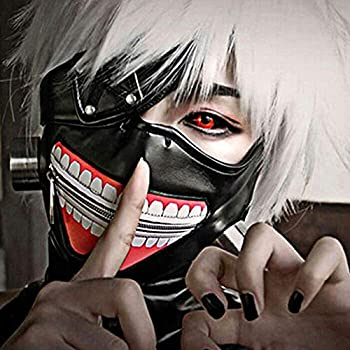 Amazon.com: Tokyo Ghoul Kaneki Ken Cosplay Mask, Party Cool Mask ...