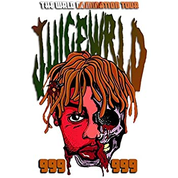 Posters Royale Juice Wrld Rapper Singer Songwriter Musician 12 x 18 Inch Quoted Multicolour Rolled Unframed Poster JU59