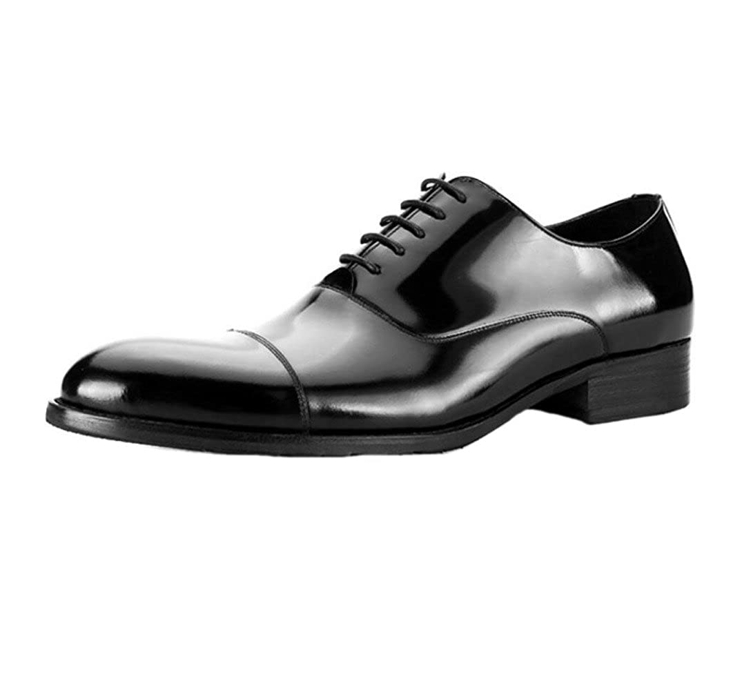 Zmlsc Herren Lerther Schuhe Wear Formelle Wear Wear Runde Weiche Spitze Gürtelschnalle Cotton Flat Bottom Jugend