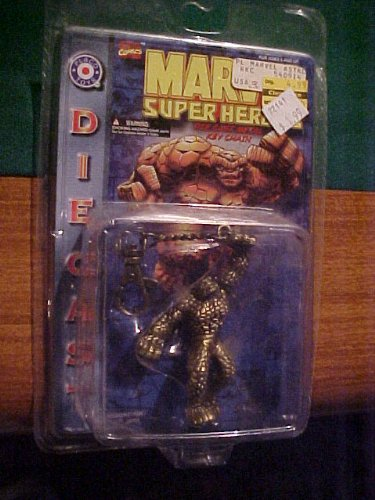 Marvel Super Heroes Diecast Metal Key Chain the Thing (Thing Superhero)