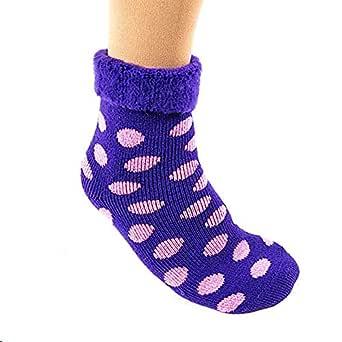 The Original Comfort Bed Socks - Purple Sport