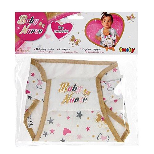 Smoby - 24048 - Poupée et Mini-Poupée - Baby Nurse - Sac Porte-bébé