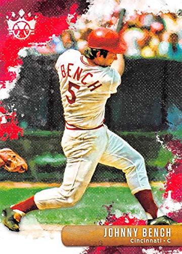 2019 Panini Diamond Kings #48 Johnny Bench Cincinnati Reds Baseball Card