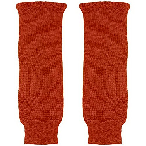 (CCM S100 Solid Color Hockey Socks - Child - Orange )