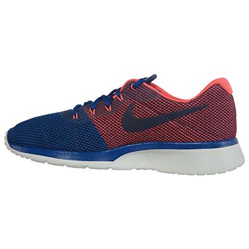 Nike Mens Tanjun Racer Scarpa Da Corsa Palestra Blu / Solare Rosso-luce Osso