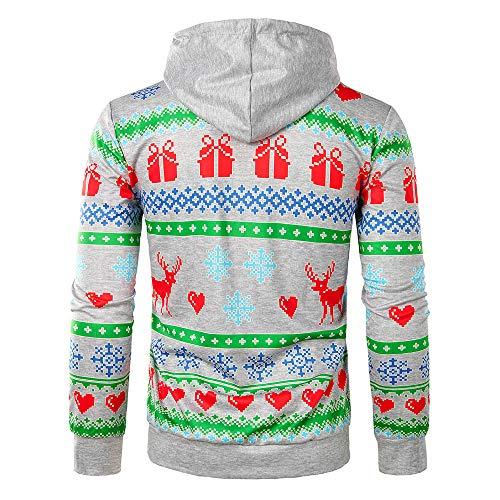 Sudaderas com Capucha Hombre, BBestseller Caliente Kimono Hooded Camiseta de Manga Larga de Invierno de los Hombres Pullover Blusa Outwear: Amazon.es: Ropa ...