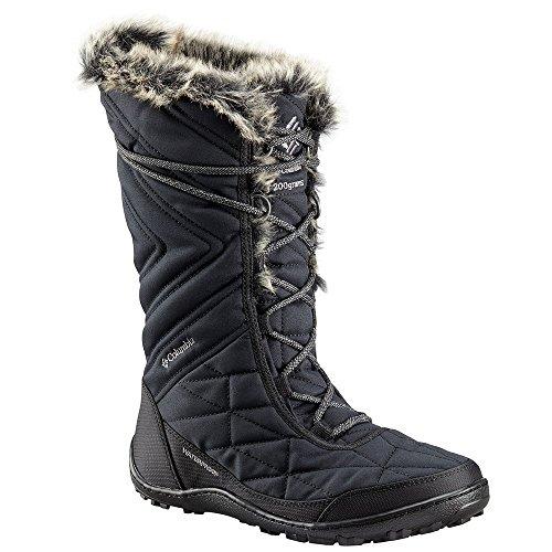 Columbia Women's Minx III Mid Calf Boot Black, ti Grey Steel 7 Regular US
