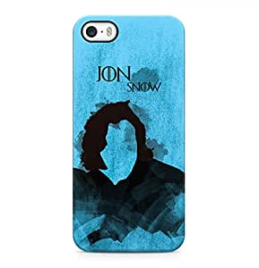 Game Of Thrones Jon Snow Hard Plastic Phone Case Cover Shell For iPhone 5 & iPhone 5s