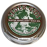 Altberg Leder Gris Water Repelling Leather Boot Wax Oil - Waterproofing for Brown Military Boots 40g Tin by Altberg Leder Gris