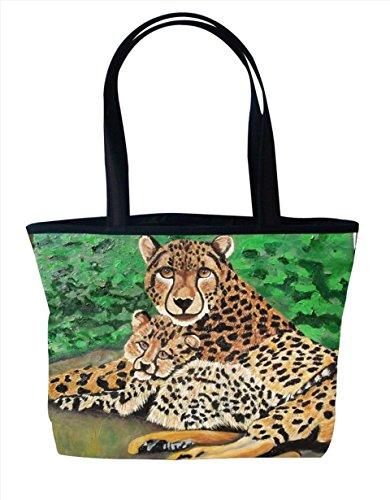 Shoulder Bag, Vegan Tote Bag, Handbag- Animals - From My ...